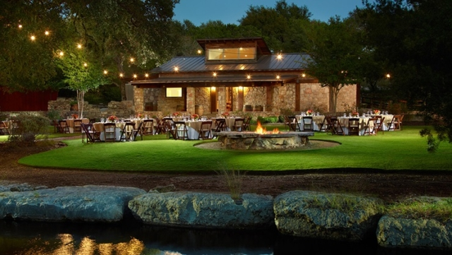 Omni Barton Creek Outside With Fire Pit